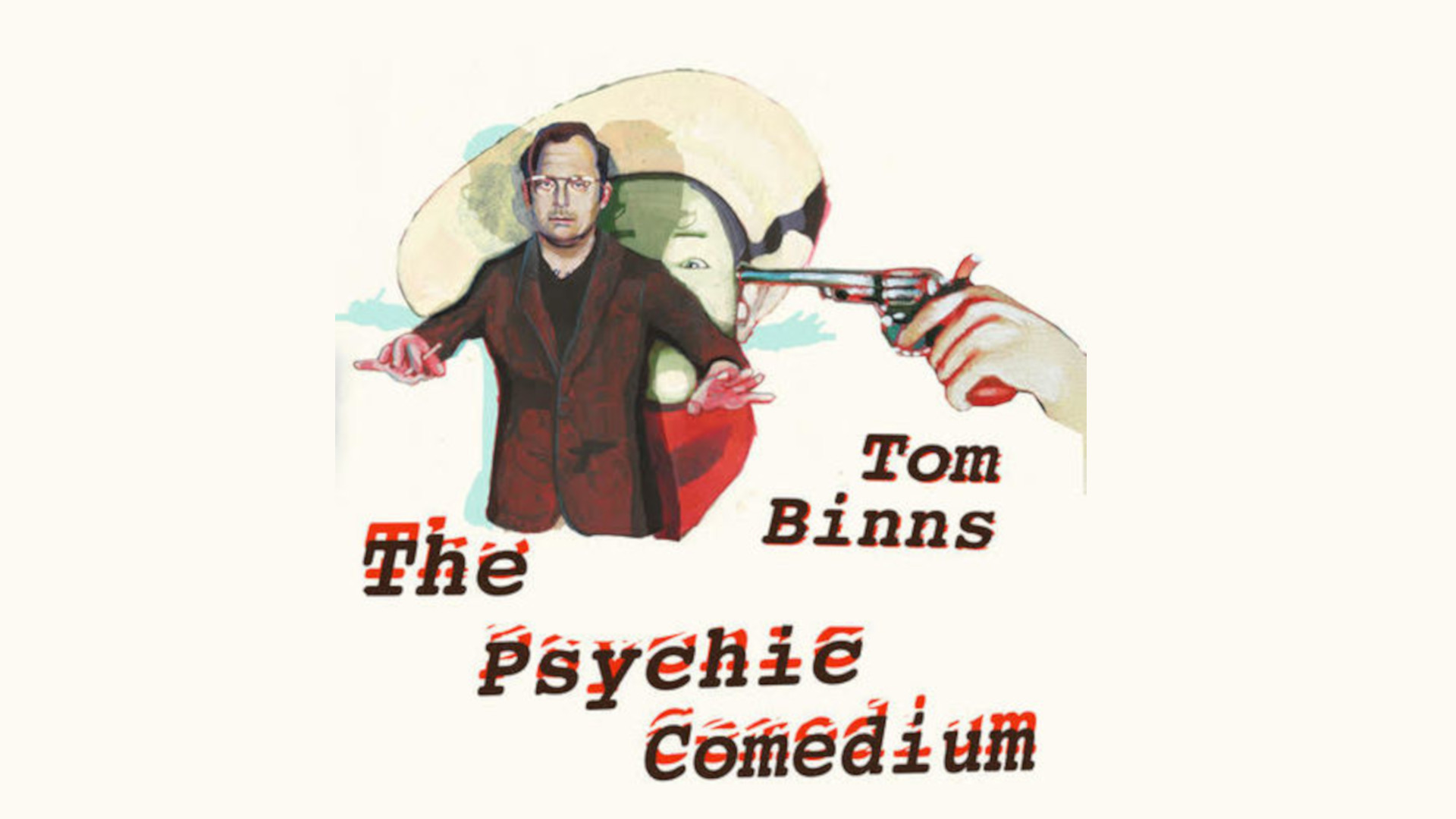 Tom Binns: the 'psychic' comedian Live at The Stands